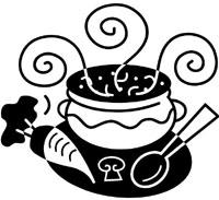 Crock Pot Of Soup Clipart.