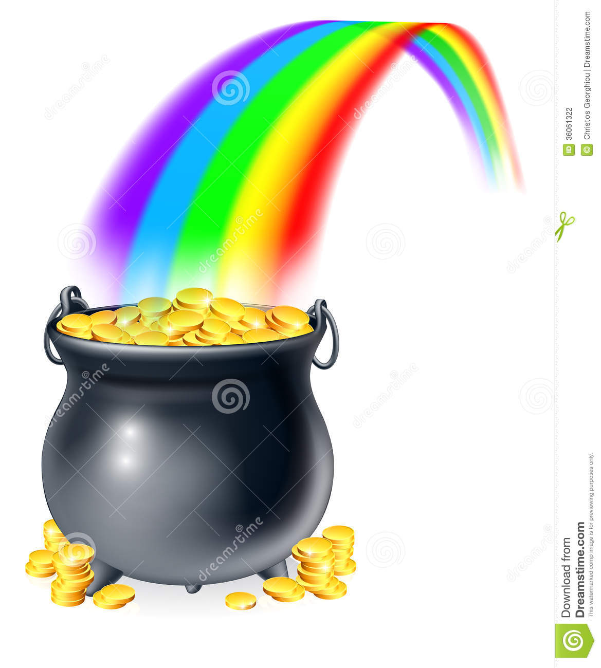 Pot Of Water With Thermometer Clipart.