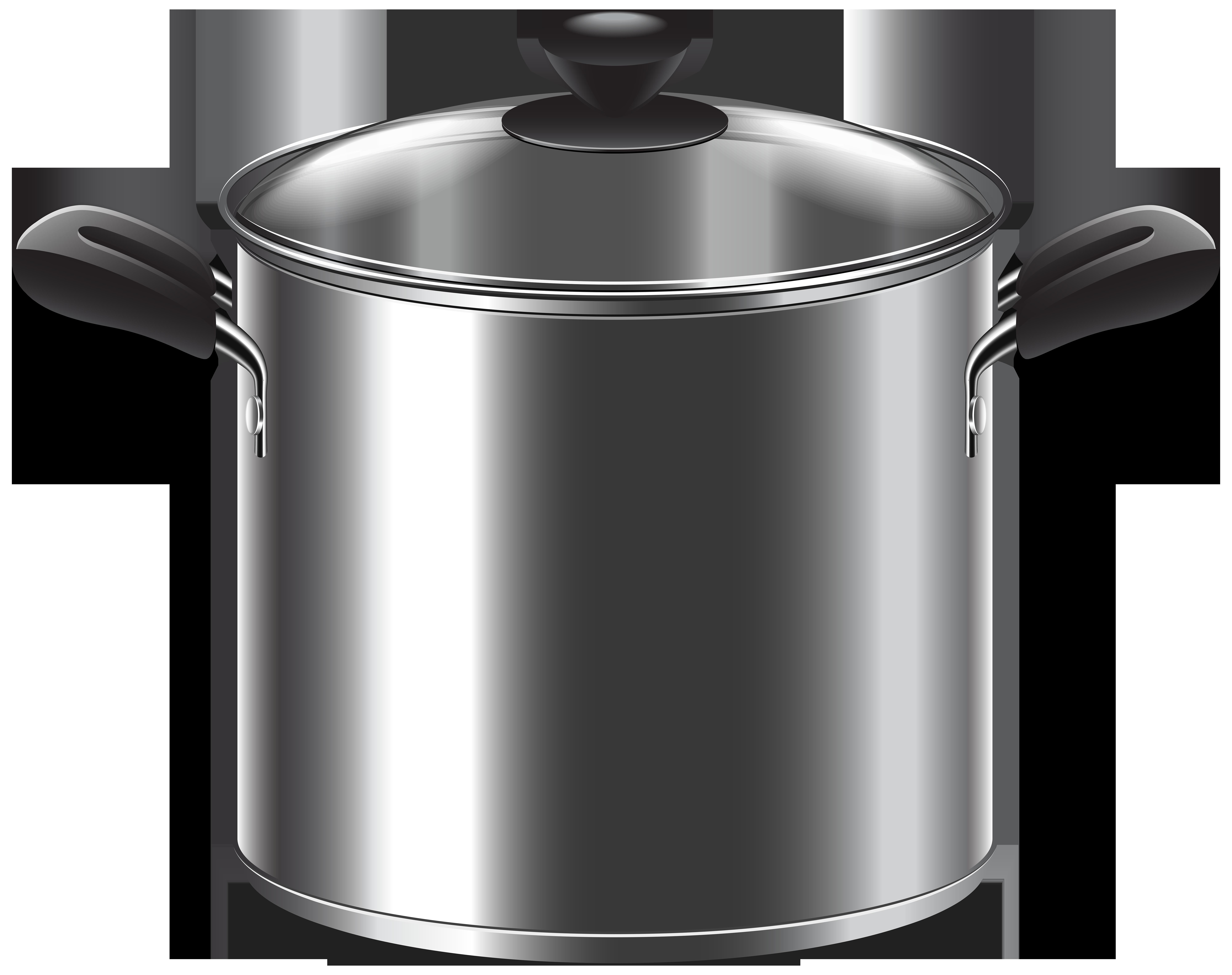 Cooking Pot PNG Clip Art.