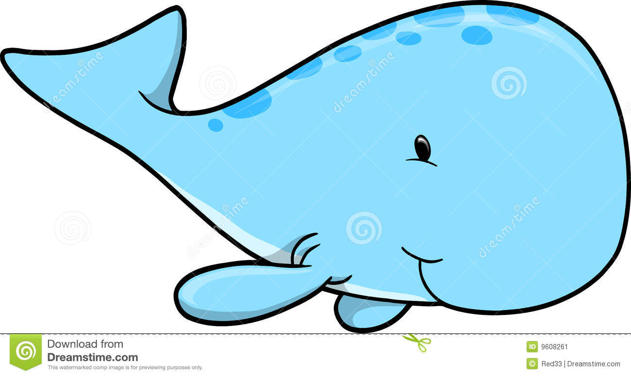 Whale Cartoon Eyes Clipart.