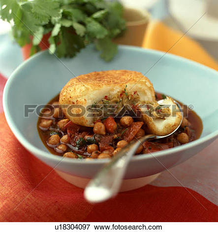 Picture of Potato Cake with Spiced Chickpeas u18304097.