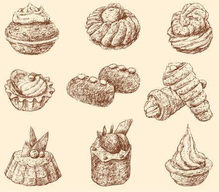 Potato Cakes Clip Art, Vector Images & Illustrations.