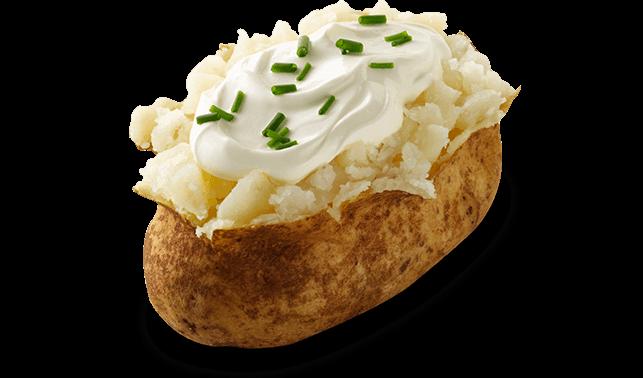 Clip Art Baked Mashed Potato Casserole.