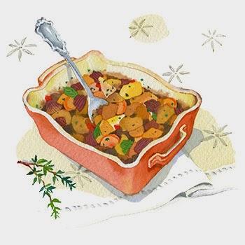 casseroles Clip Art.