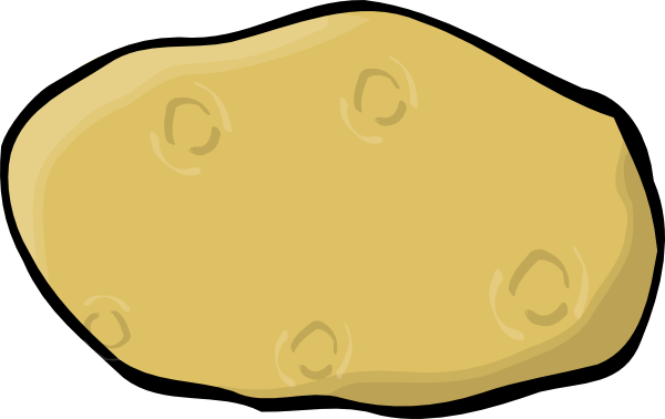 Cartoon Potato Clipart.