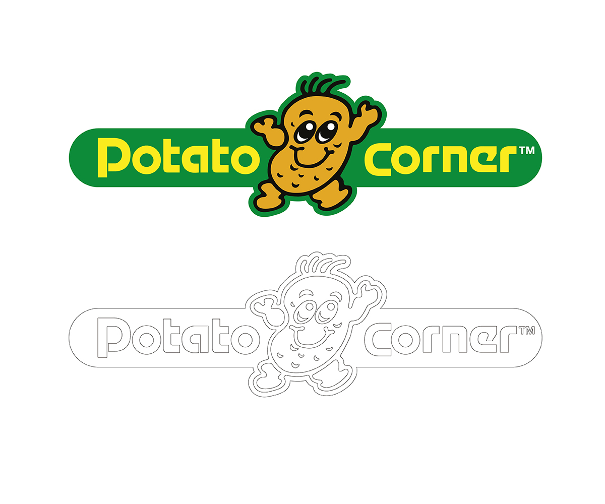 8 Elegant Playful Logo Designs for Potato Corner a business in.