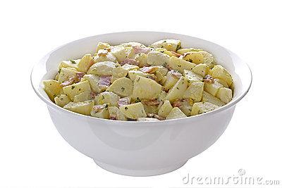 Deli Potato Salad Stock Image.