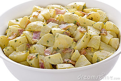 German Potato Salad Stock Image.