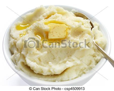 Stock Photos of Mashed Potato.