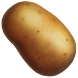 Potato Emoji (U+1F954).