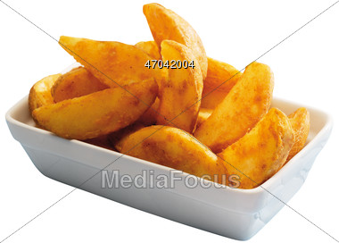 Stock Photo Seasoned Potato Fries Clipart.