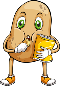 A couch potato Logo Vector (.EPS) Free Download.