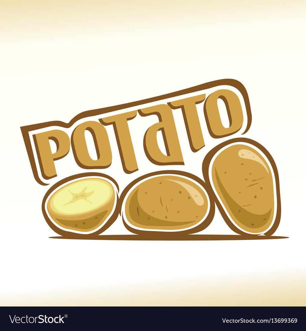 Logo for potato.