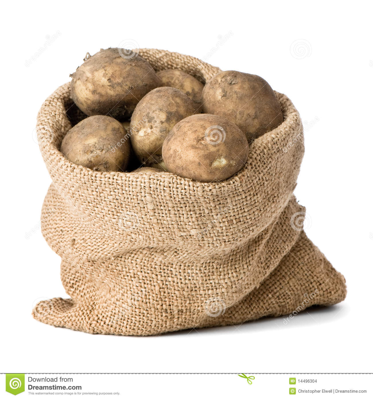 Potato Sack Clipart.