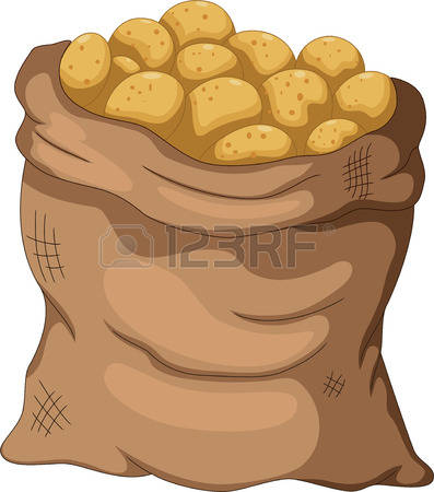 116 Potato Sack Cliparts, Stock Vector And Royalty Free Potato.