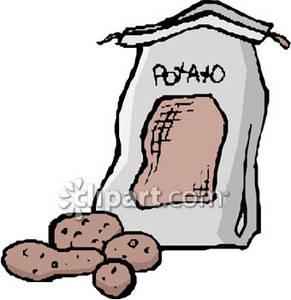 Outside a Potato Sack.