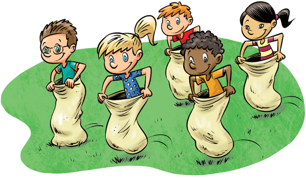 Potato sack race clip art clipart images gallery for free.