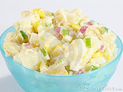 Potato Salad Clipart.