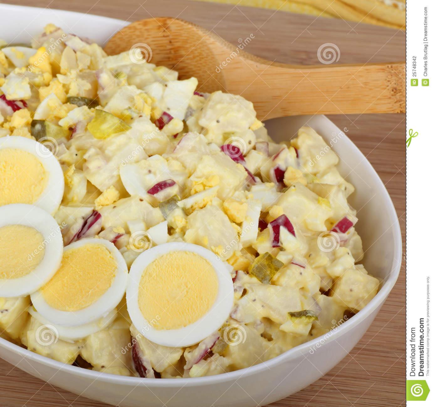 Potato Salad Royalty Free Stock Photos.