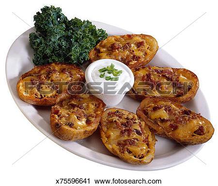 Stock Photography of Potato skins x75596641.
