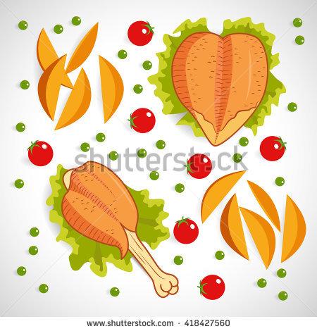 Potato Skins Stock Vectors, Images & Vector Art.