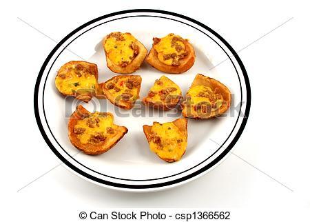 Stock Photo of Potato skin.
