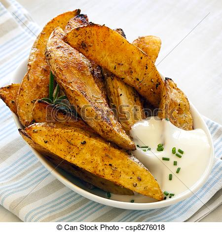 Pictures of Potato Wedges.