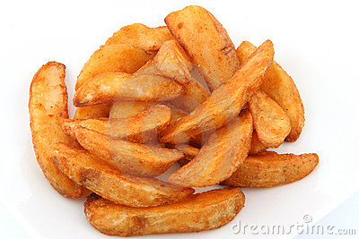 Oven Baked Potato Wedges Stock Photos, Images, & Pictures.