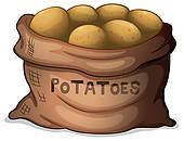 Potatoes Clip Art.