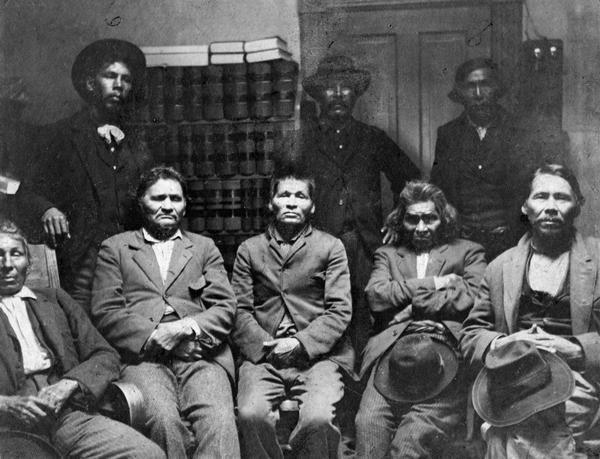 Important Potawatomi Men, hereditary Chief descendants and headmen.