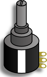 Electronic Variable Resistance Clip Art at Clker.com.