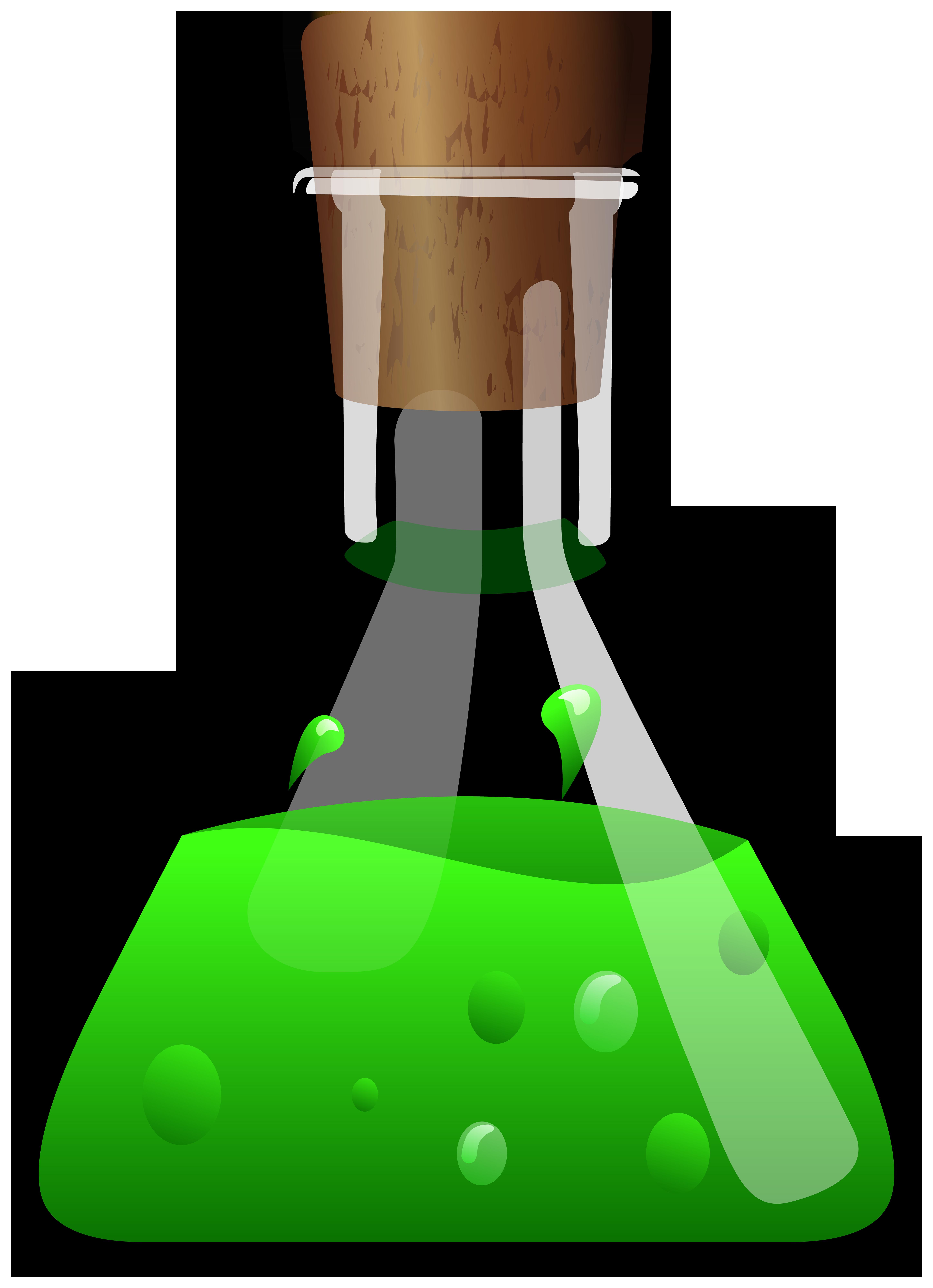 Poison Potion PNG Clipart.