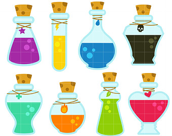 Magic Potion Clipart.