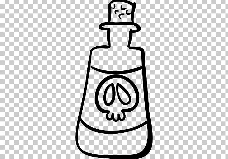 Potion Computer Icons PNG, Clipart, Area, Black And White.