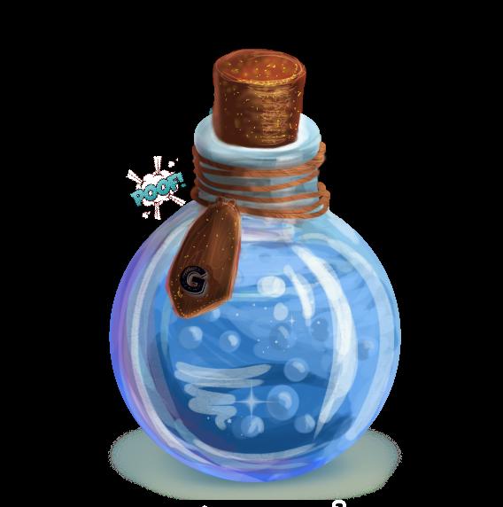 Potions in Harry Potter Bottle Alchemy Minecraft.