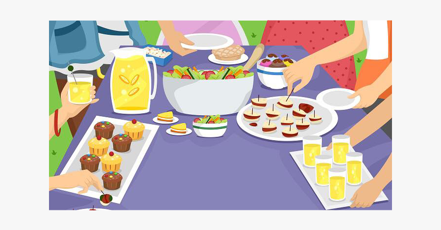Food Contribution For Potluck Clipart , Free Transparent.