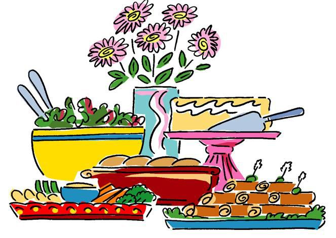 Go Back Pix For Potluck Lunch Clipart.