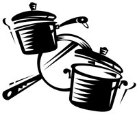 Pots and pans clipart free 1 » Clipart Portal.