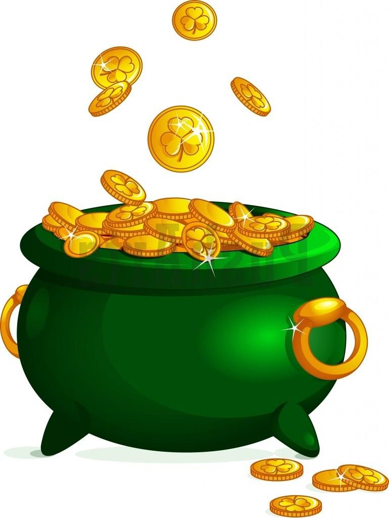 Pots of gold clipart » Clipart Station.