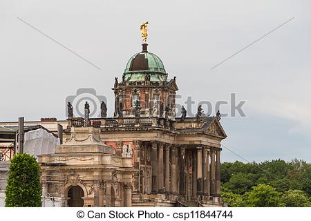 Stock Photo of One of the university buildings of Potsdam.