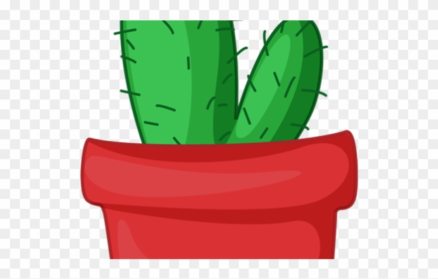 Cactus Clipart Potted.