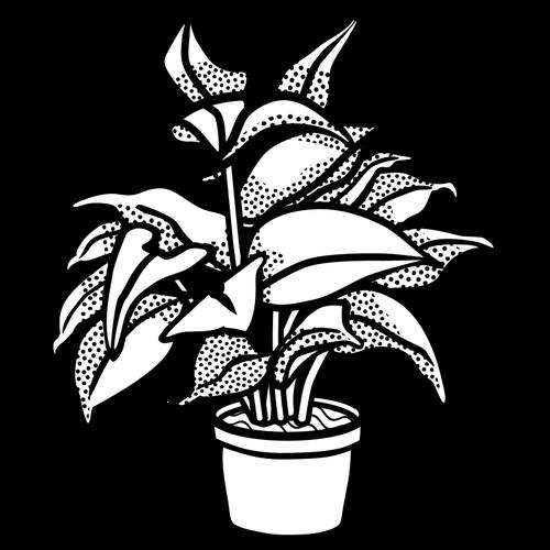 Potted plant symbol.