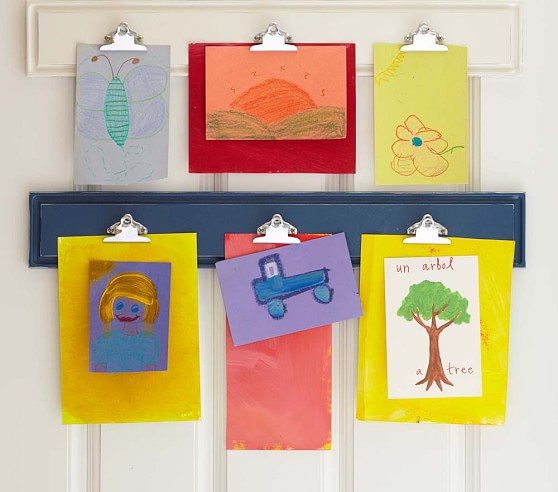 Kids Clip Art Display.