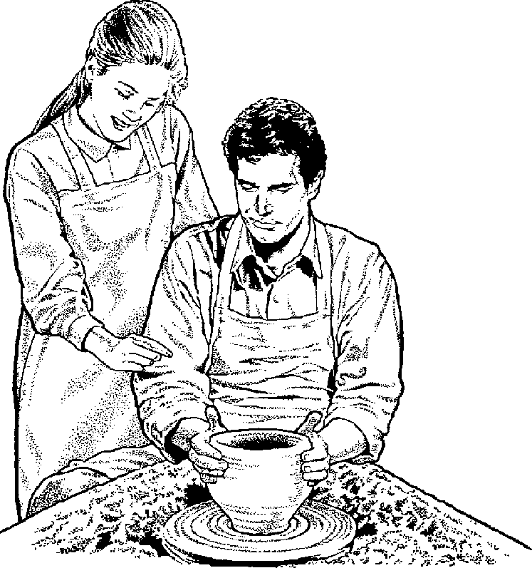 Free Pottery Clipart Black And White, Download Free Clip Art.