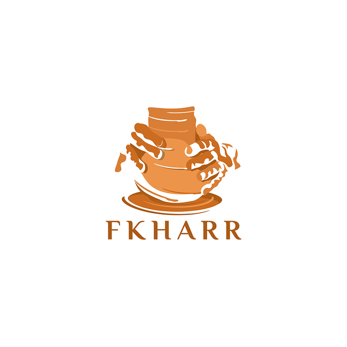 Design a Pottery logo for FKHARR company.