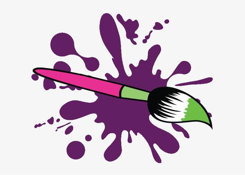 Paint Brush Clipart Paint Party.