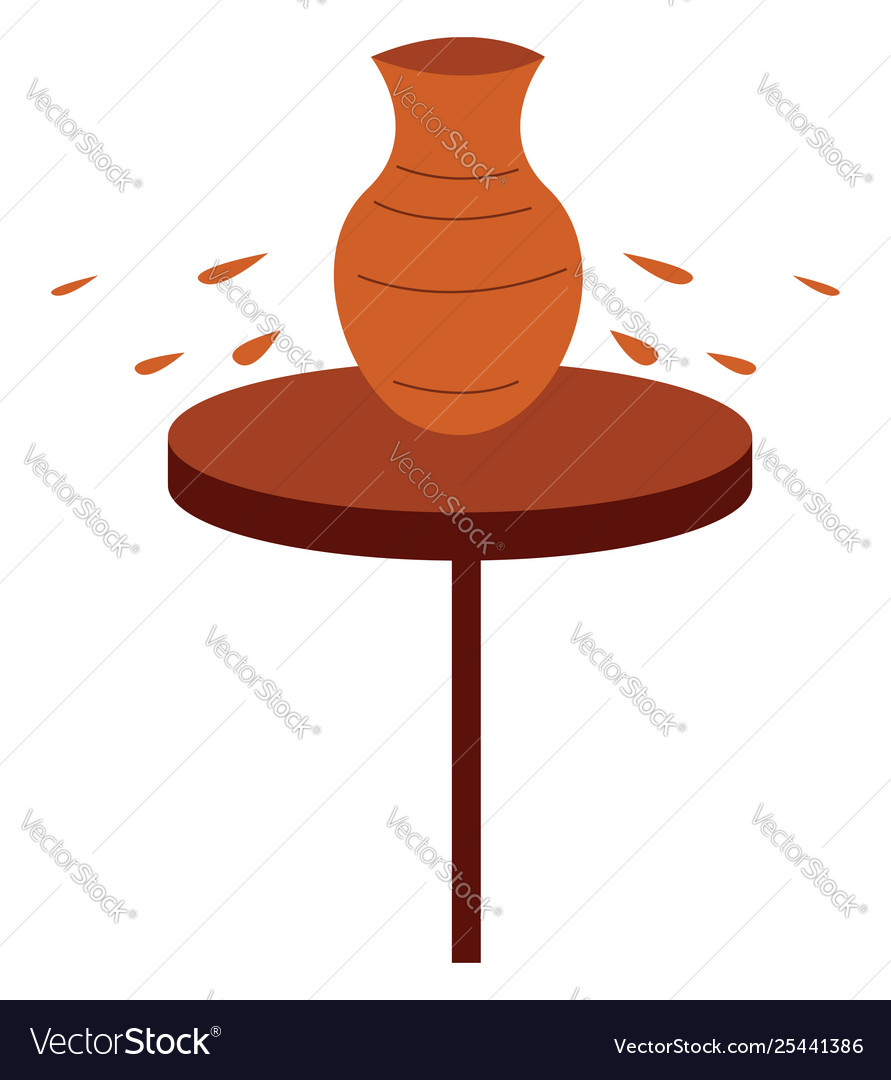 Clipart potters wheel or color.