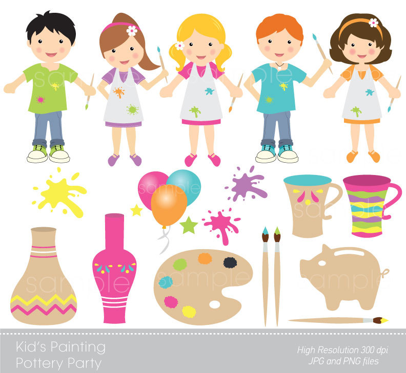 Pottery workshop clipart - Clipground