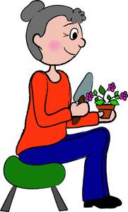 Gardening Clipart Image.