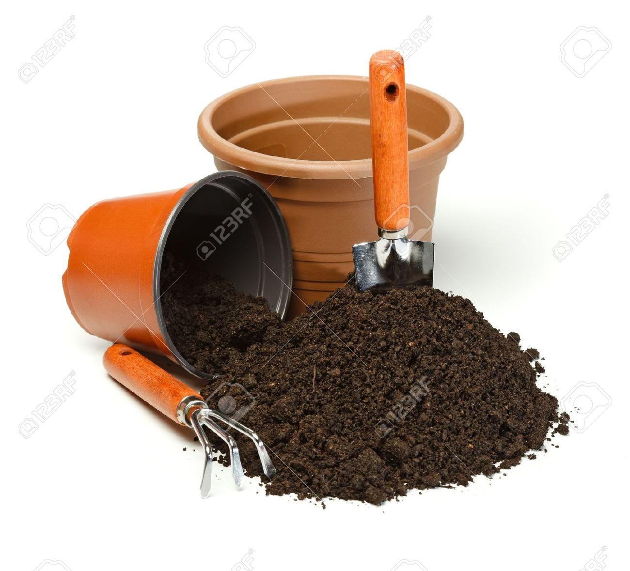 Potting clipart clipground for Soil utensils